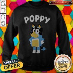 Funny Poppy Bluey Sweatshirt
