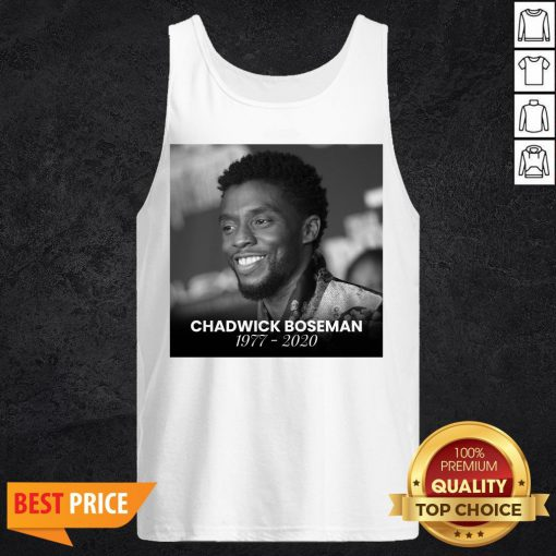Funny Rip Chadwick Boseman Tank Top