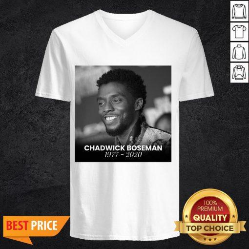 Funny Rip Chadwick Boseman V-neck