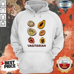 Funny Vegan Vagitarian Hoodie