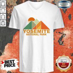 Funny Yosemite V-neck