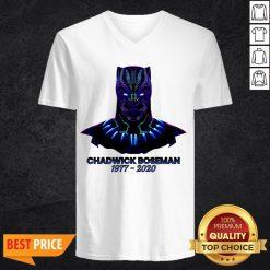 Grand RIP Chadwick Boseman 1977-2020 V-neck