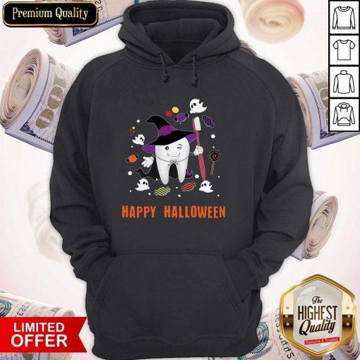 Happy Halloween Teeth Costume Hoodie