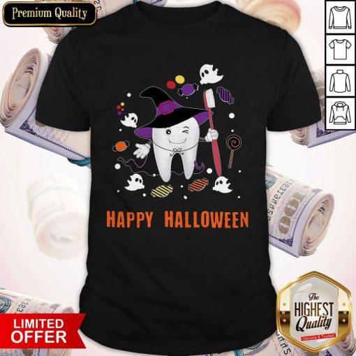 Happy Halloween Teeth Costume Shirts