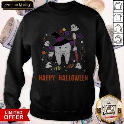 Happy Halloween Teeth Costume Sweatshirts