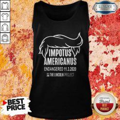 Impetus Americanus The Lincoln Project Tank Top
