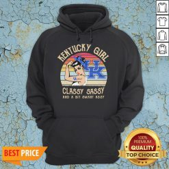 Kentucky Girl Classy Sassy And A Bit Smart Assy Vintage Hoodie