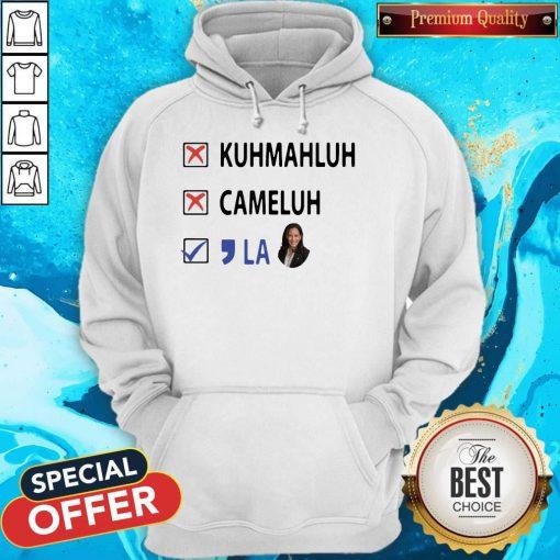Kuhmahluh Cameluh Comma La Hoodiev