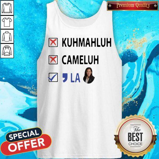 Kuhmahluh Cameluh Comma La Tank Top