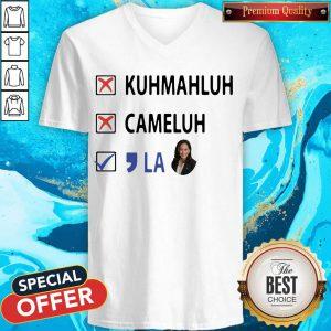 Kuhmahluh Cameluh Comma La V-neck