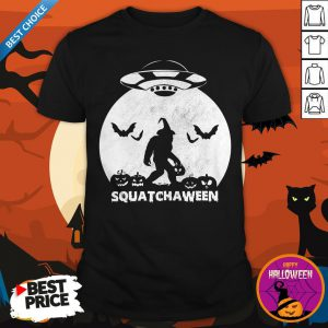 Nice Bigfoot Squatchaween Shirt