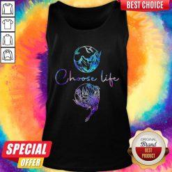 Nice Choose Life Color Tank Top
