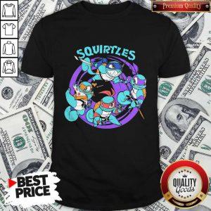 Nice Ninja Turtles Squirtles Shirt