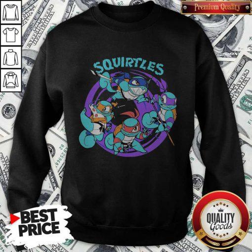 Nice Ninja Turtles Squirtles SweatshirtNice Ninja Turtles Squirtles Sweatshirt