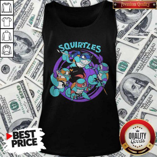Nice Ninja Turtles Squirtles Tank TopNice Ninja Turtles Squirtles Tank Top