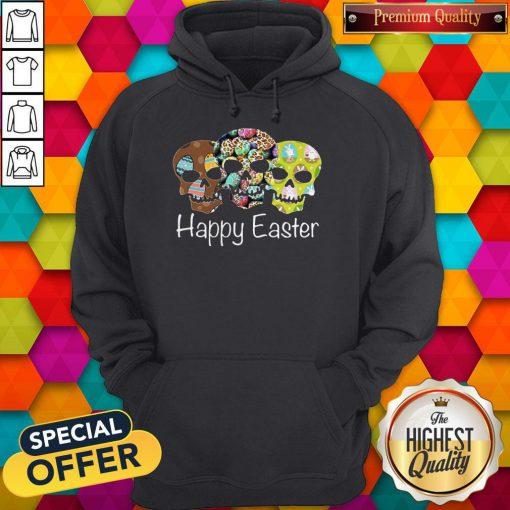 Nice Skull Happy Easter Hoodie