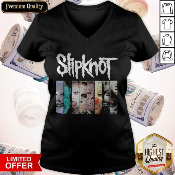 Nice Slipknot Horror Characters Face Nice Slipknot Horror Characters Face V-neck