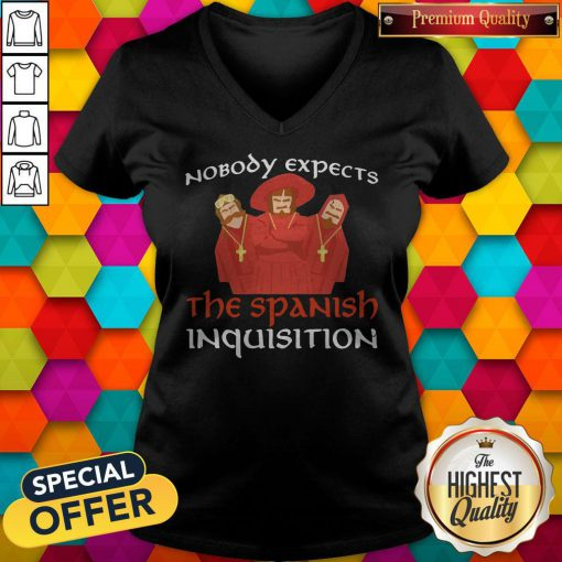 Nobody Expects The Spanish Inquisition V-neck
