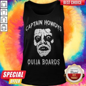 OfficIal Captain Howdys Ouija Boards Tank Top