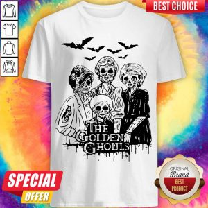 Officlal The Golden Ghouls Halloween ShirtOfficlal The Golden Ghouls Halloween Shirt