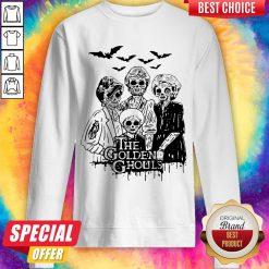 Officlal The Golden Ghouls Halloween Sweatshirt