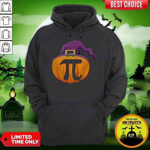 Pumpkin Pi Halloween Math Teacher Gifts For Kids T-Hoodie