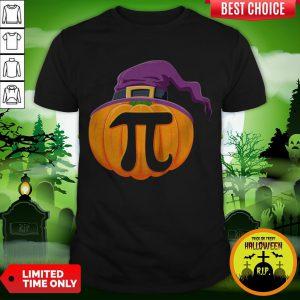 Pumpkin Pi Halloween Math Teacher Gifts For Kids T-Shirt