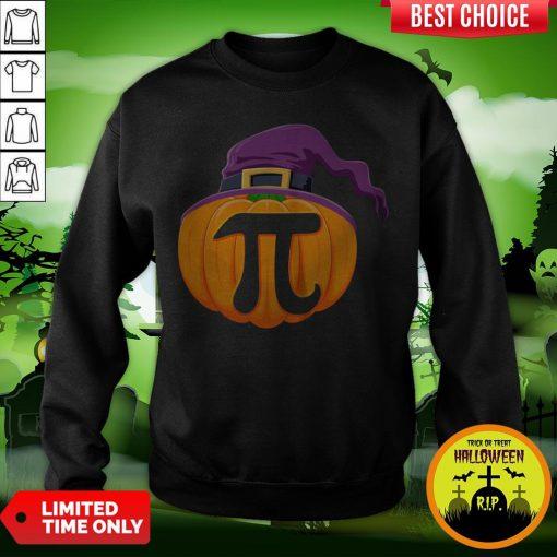 Pumpkin Pi Halloween Math Teacher Gifts For Kids T-Sweatshirt