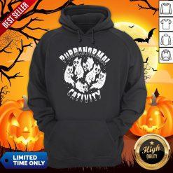 Purranormal Creativity Scary Cats Halloween HoodiePurranormal Creativity Scary Cats Halloween Hoodie