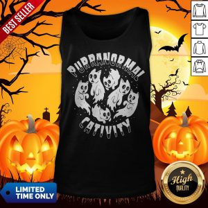 Purranormal Creativity Scary Cats Halloween Tank Top