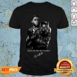 R I P Black Panther Star Chadwick Boseman 1977-2020 Shirt