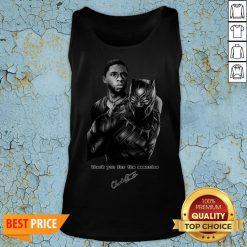R I P Black Panther Star Chadwick Boseman 1977-2020 Tank Top