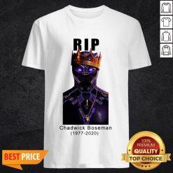 R I P King Wakanda Black Panther Chadwick Boseman Shirt