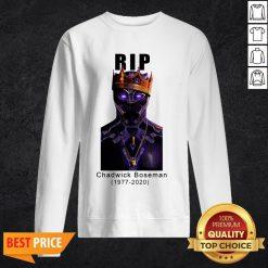 R I P King Wakanda Black Panther Chadwick Boseman Sweatshirt