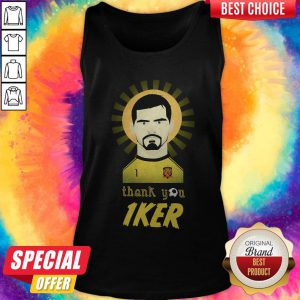 Real Madrid Iker Casillas Thank You Tank Top