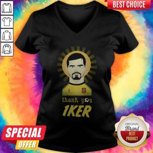 Real Madrid Iker Casillas Thank You V-neckReal Madrid Iker Casillas Thank You V-neck