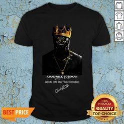 RIP Chadwick Boseman A Tribute To King T'challa The Black Panther Shirt