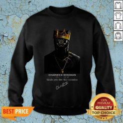 RIP Chadwick Boseman A Tribute To King T'challa The Black Panther Sweatshirt