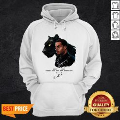 Rip Chadwick Boseman Black Panther 1977 2020 Thank You For The Memories Signature Hoodie