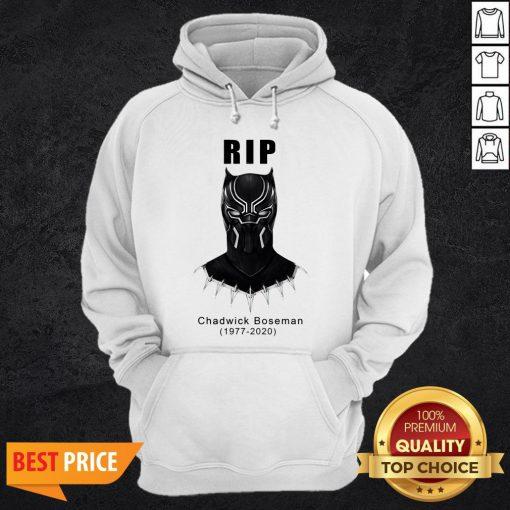 RIP Chadwick Boseman Black Panther's 1977 2020 T-Hoodie