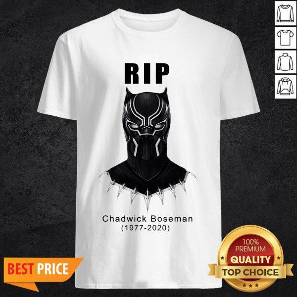 RIP Chadwick Boseman Black Panther's 1977 2020 T-Shirt