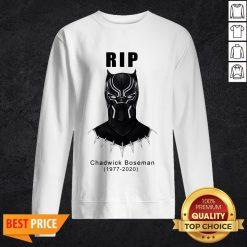 RIP Chadwick Boseman Black Panther's 1977 2020 T-Sweatshirt