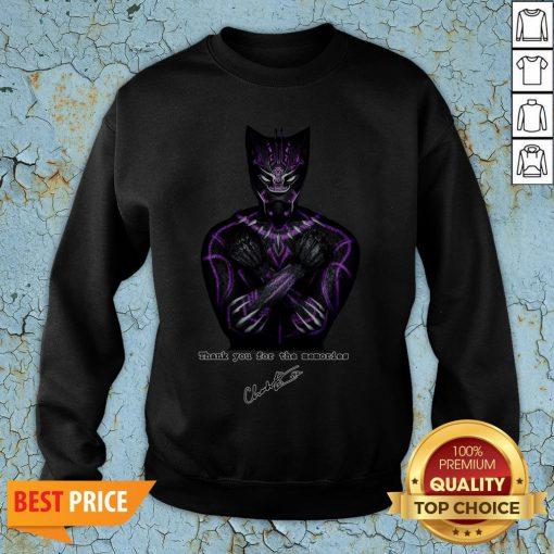 RIP Chadwick Boseman Black Panther's Actor Passes At 43 Sweatshirt
