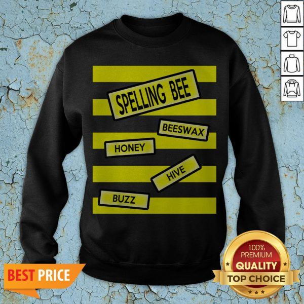 Spelling Bee Funny Pun Teacher Halloween Costume Sweatshirt