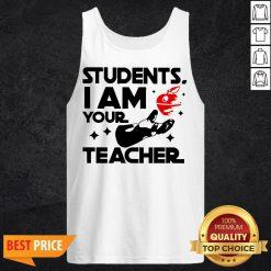 Star Wars Students I Am Your Teacher Tank Top
