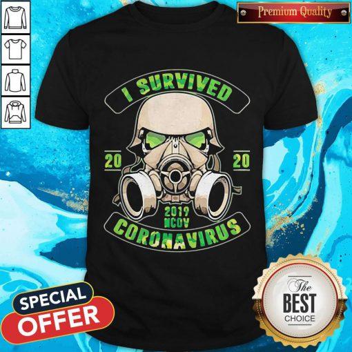 Stormtroopers I Survived 2020 2019 Nov Coronavirus Shirt
