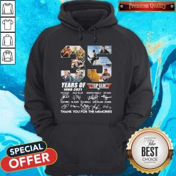 Untitled-1Top Gun 35 Years Of 1986-2021 Thank You For The Memories Signatures Hoodie