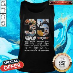 Untitled-1Top Gun 35 Years Of 1986-2021 Thank You For The Memories Signatures Tank Top