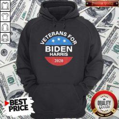 Veterans For Biden Harris 2020 Vote Hoodie