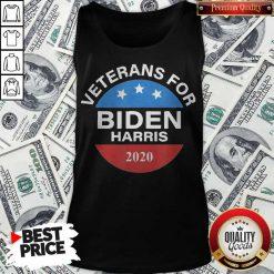 Veterans For Biden Harris 2020 Vote Tank Top